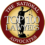 Advocates top 100 member seal - Domestic Violence / Injunctions