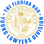 Florida Young Lawyers Logo 150px 1 - Domestic Violence / Injunctions